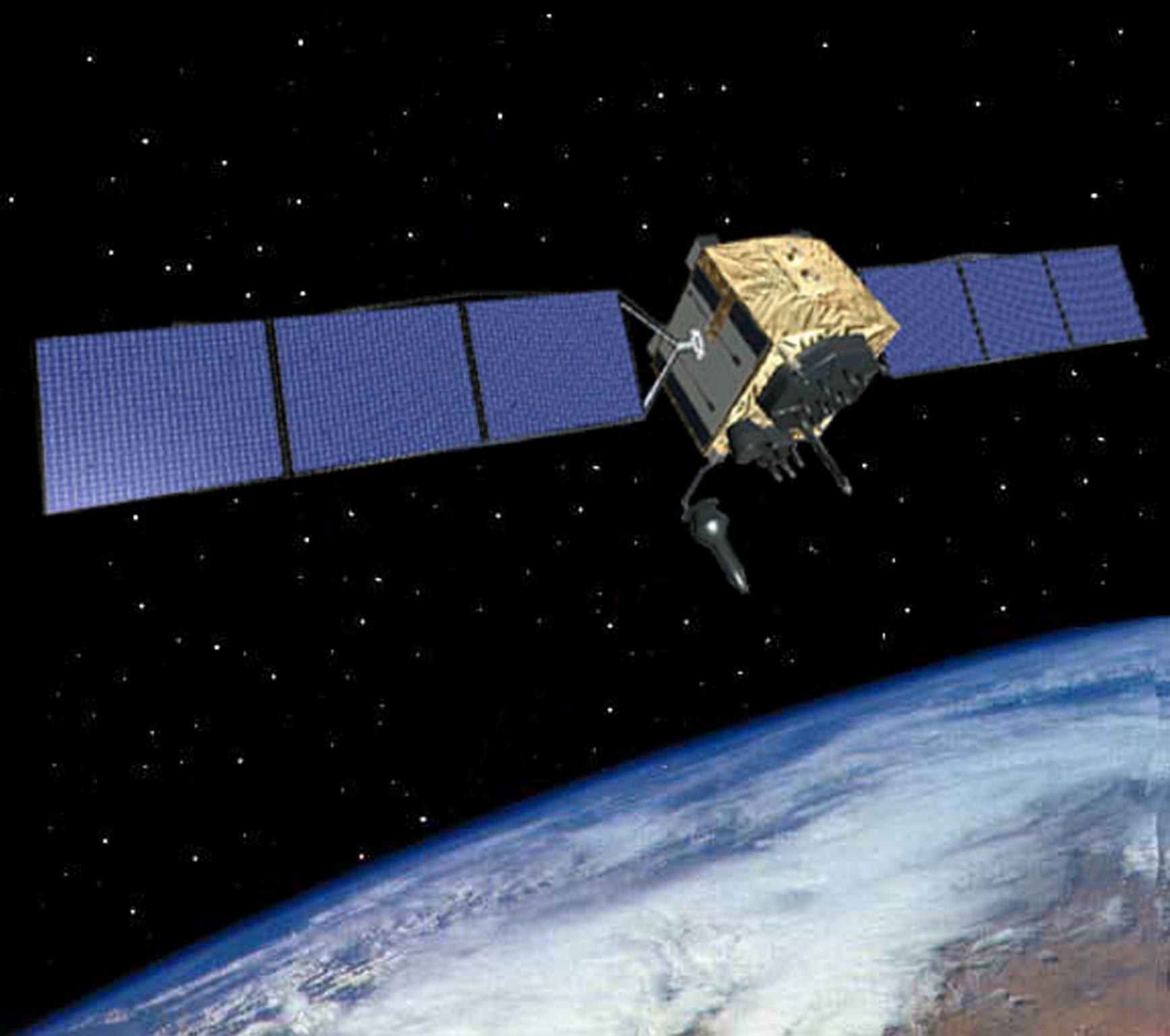 Gps Block Iif Satellite