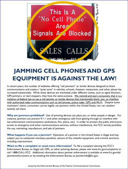 signal jamming methods corporation